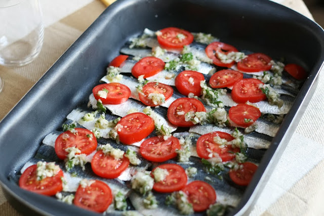 sarde gratinate alla menta ricetta