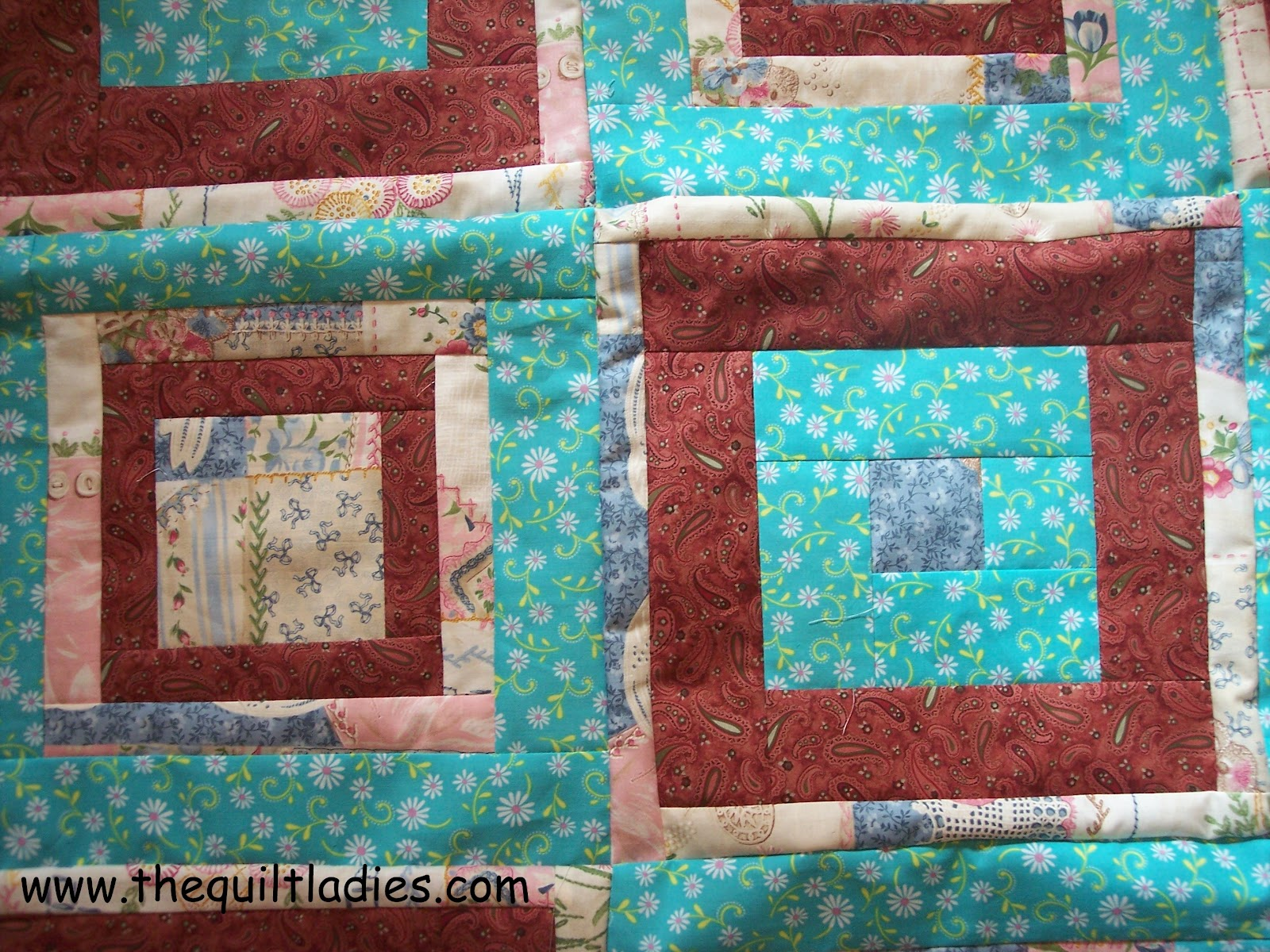 Log Cabin Patterns : The quilt ladies book collection fun fabric and log cabin