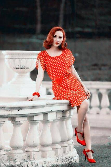 myanmar attractive actress