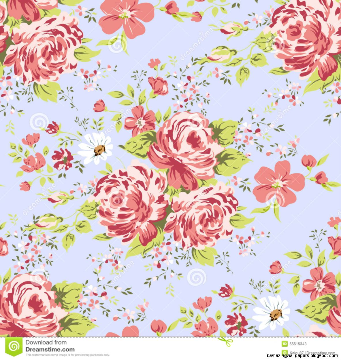 Vintage Pink Flowers Wallpaper Amazing Wallpapers