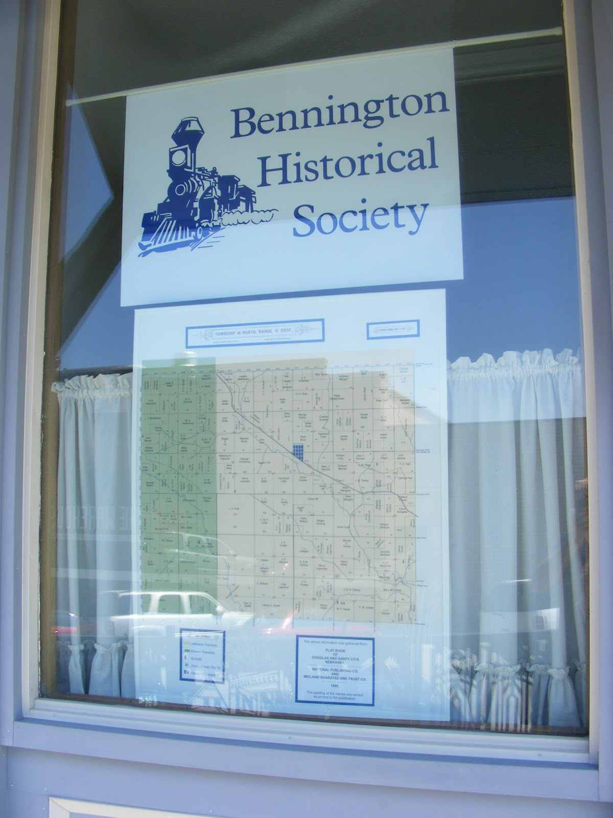 Bennington Historical Society   Bennington  Nebraska  Bennington