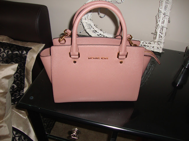 Rose Gold Michael Kors Bag