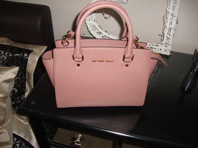 Rose Gold Michael Kors Bag