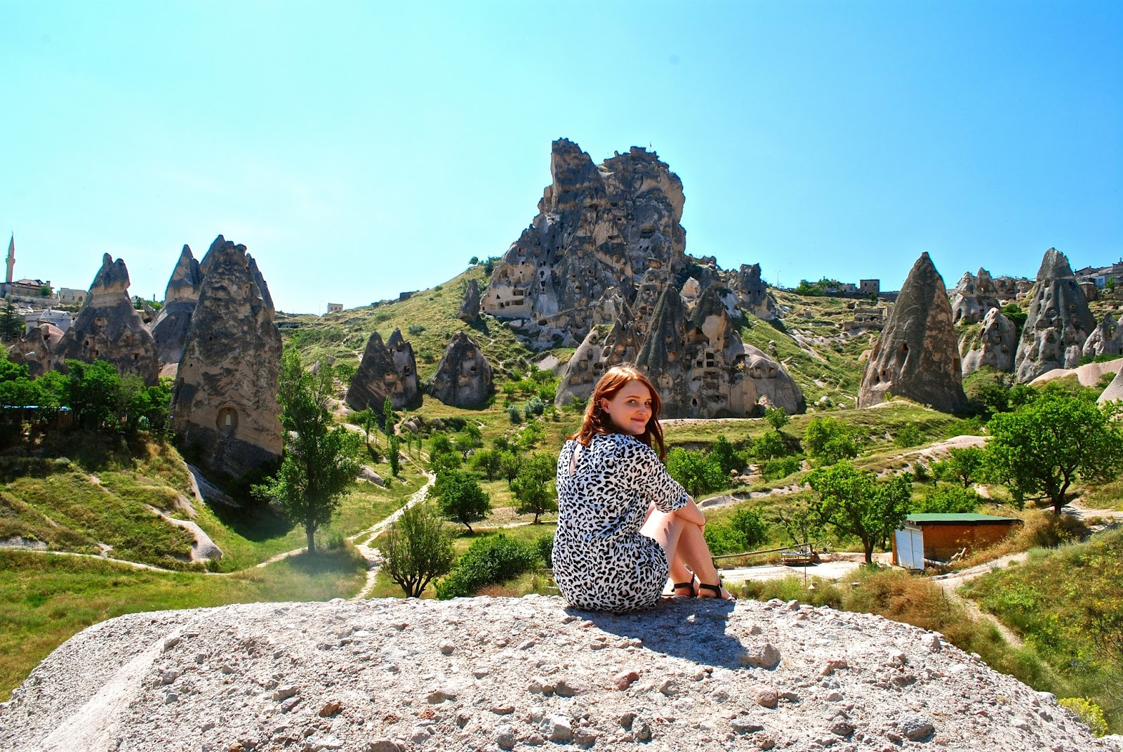 Things to do in Cappadocia : Uchisar Castle on the Red tour