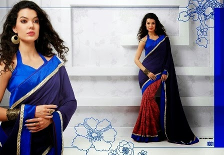 Stylish Sarees Blouses New Designs