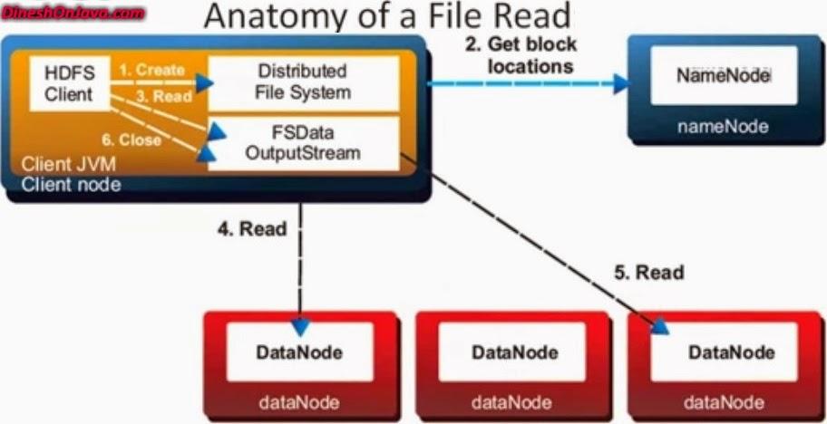 HDFS read Anatomy