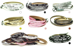 Good Works Metallic Wrap Bracelet