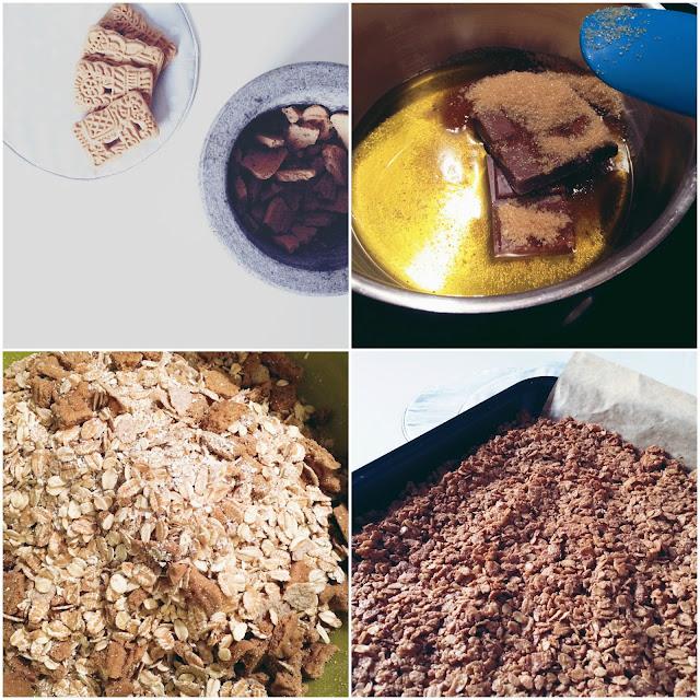 GrinseStern Spekulatius Granola, Müsli, Rezept, DIY