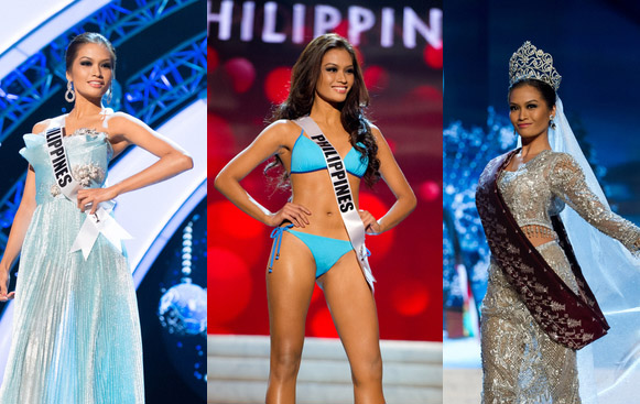 Janine Tugonon's bid in Miss Universe 2012 airs live via satellite on ABS-CBN at 9:30 am after Kris TV