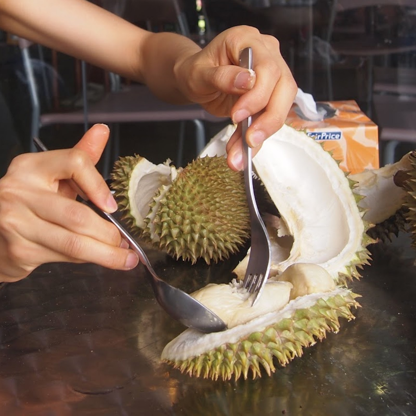 Welcome: Eat Durian wi...