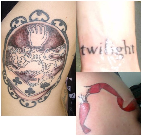 085a38d3a Owners Description: Maria has three Twilight tattoos. She has talked about  her