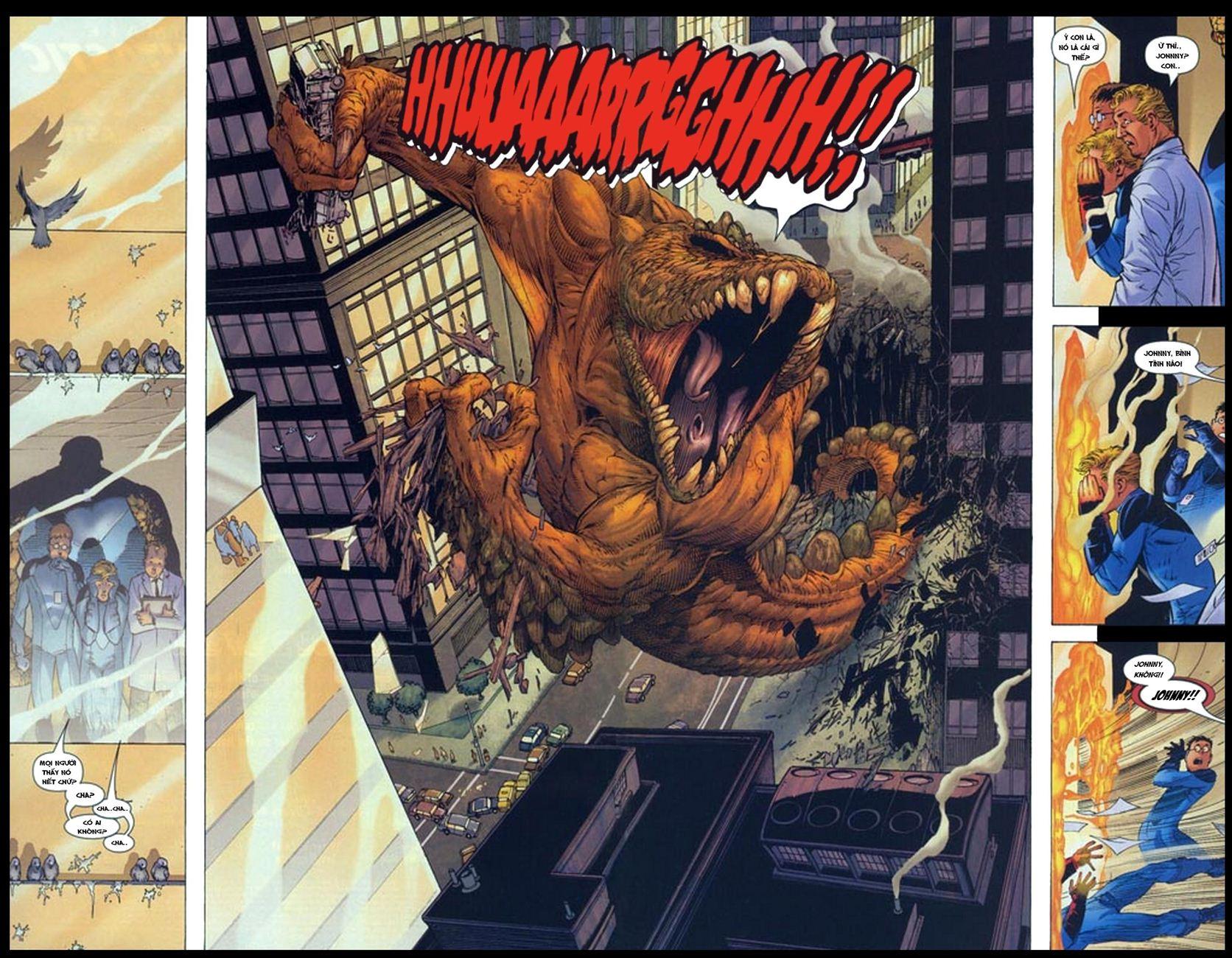 Ultimate Fantastic Four chap 5 - Trang 4