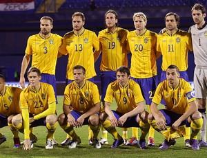Seleção da Suécia está no Grupo D da Euro Copa 2012