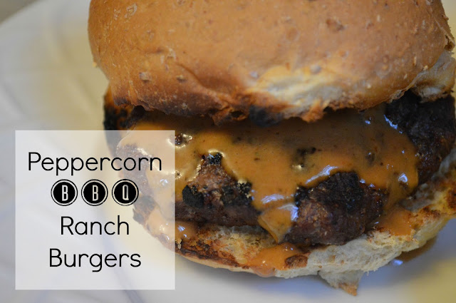 Recipe - Peppercorn BBQ Ranch Burgers