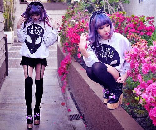 Crazy and Kawaii Desu, cute, dress, Gyaru, kawaii, Kawaii Desu, Kawaii outfits, Lolita, Moda Kawaii, Autumn, Ulzzang,