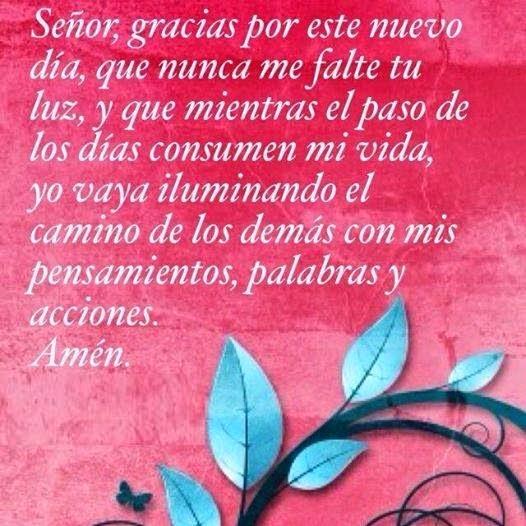 Oracion Y Acción De Gracias A Dios