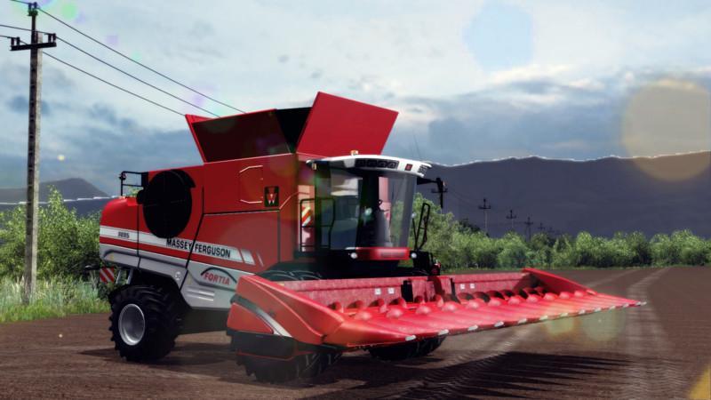 Colheitadeira massey ferguson 9895 v1 0 farming simulator brasil