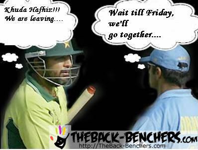 Pakistan VS Indian cricket world cup 2011 funny pictures