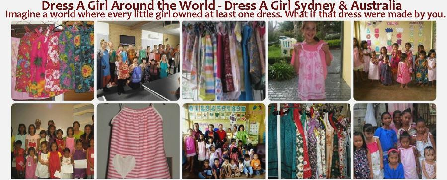 .Dress A Girl Around the World - Dress A Girl Sydney &amp; Australia