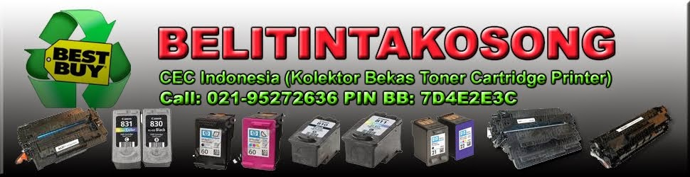Beli Cartridge Toner Tinta bekas Printer 021-95272636