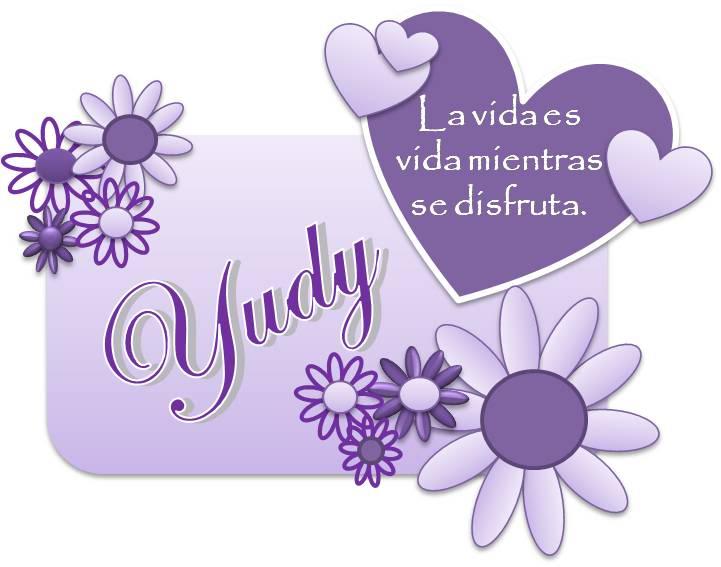 imágenes de nombres yudy