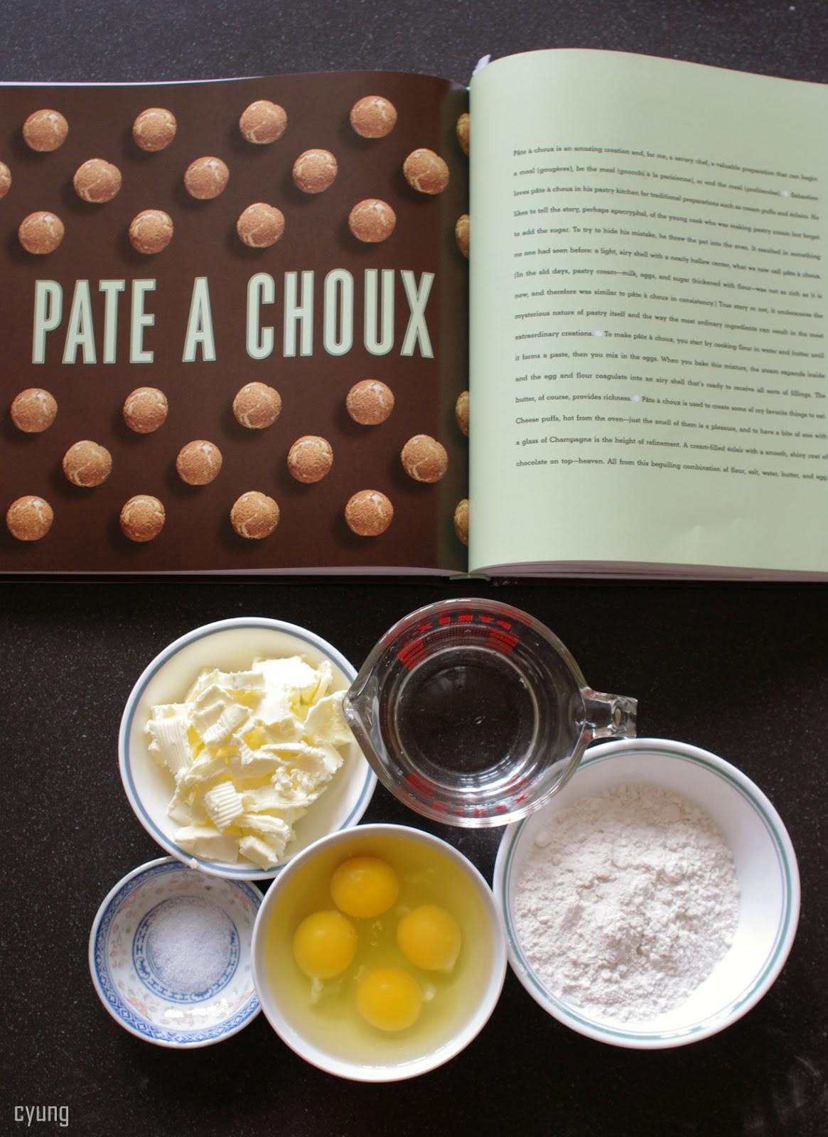 CARMENHUNGRY: Bouchon Bakery Cookbook: Cream Puffs
