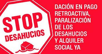STOP DESAHUCIOS!