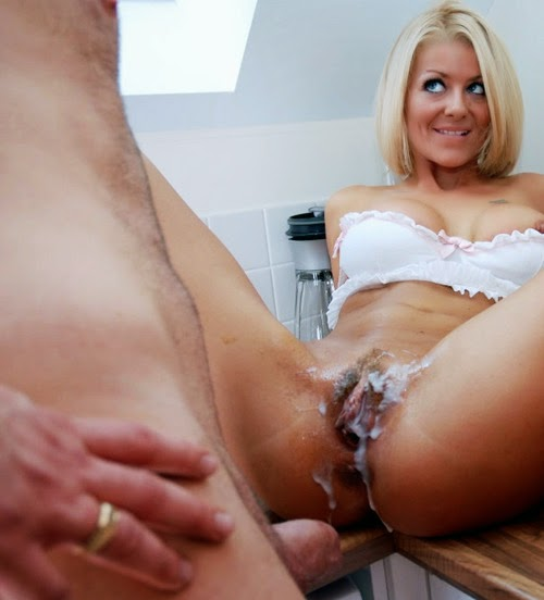image Mila jade gets filled with a full nelson creampie