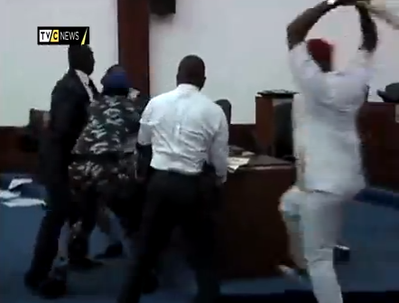 rivers state house of assembly fighting video