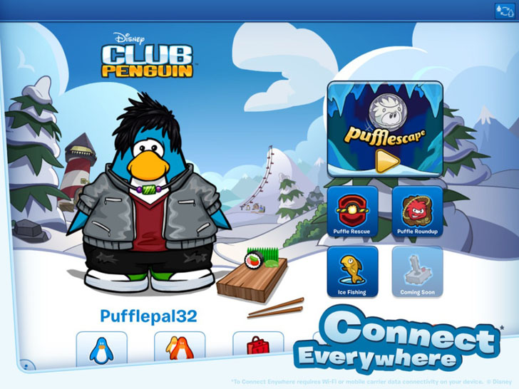 My Penguin iTunes App By Disney - FreeApps.ws