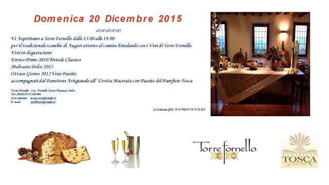 Auguri di Natale a Torre Fornello 20 Dicembre @TorreFornello
