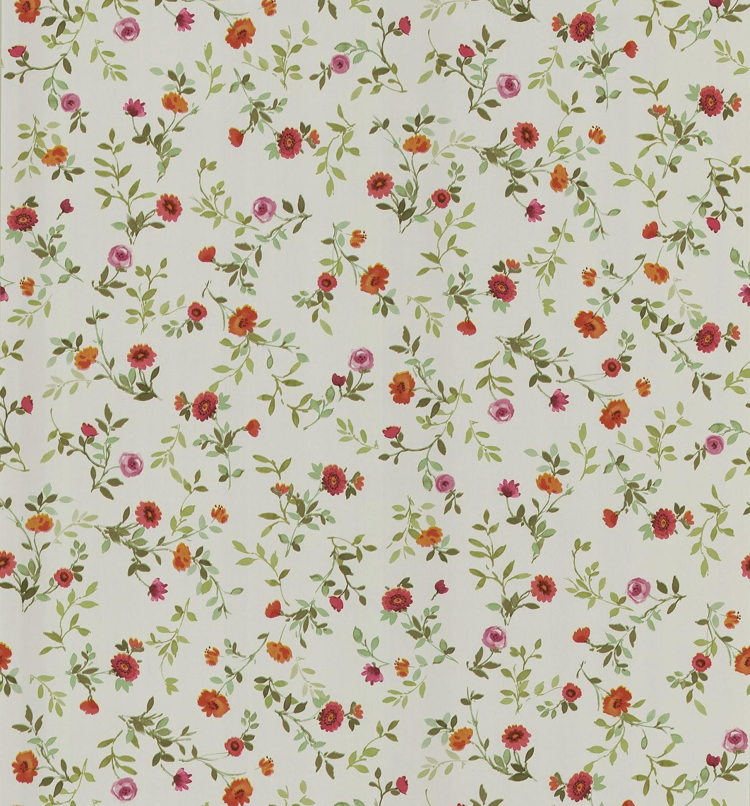pink vintage floral wallpaper viewing gallery