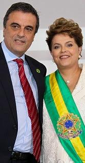 José Eduardo Cardozo & Dilma Rousseff.