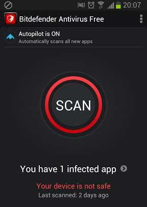 Bitdefender Antivirus Free Virus Scanning