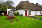 Casas tradicionales en la ciudad de Adare Limerick Irlanda