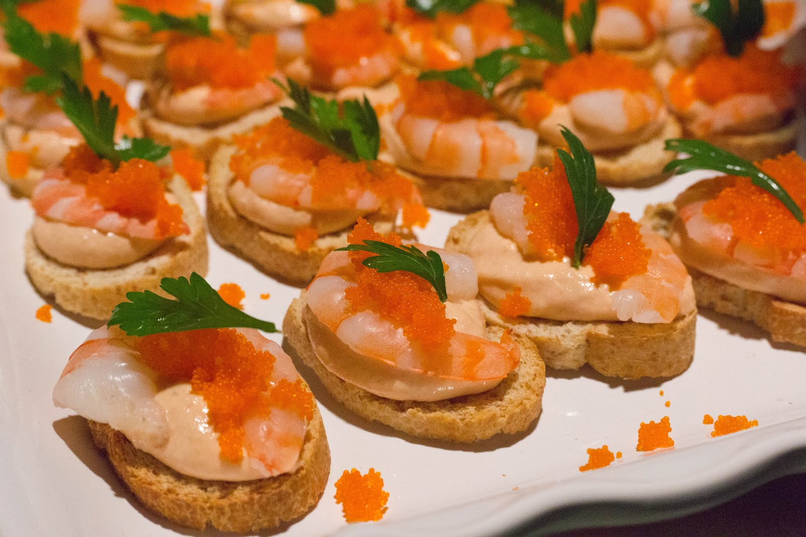 Dragon 39 s kitchen my titanic 1st class dinner for Canape hors d oeuvres