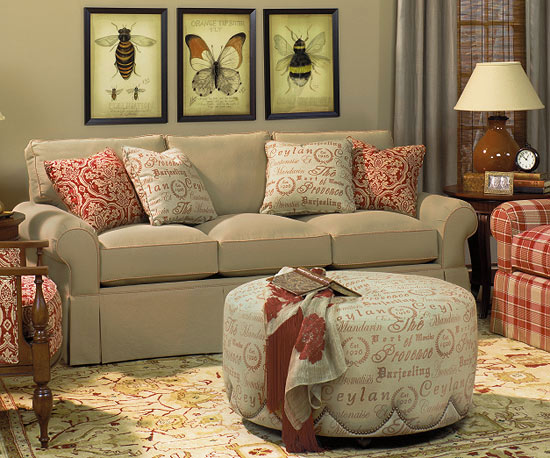Yellow for Living Room Furniture