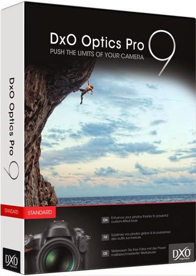 DxO Optics Pro 9 crack and serial key free download