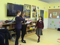 Entrega diplomas inglés