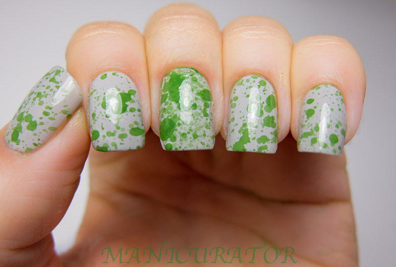 manicurator: Abstract Nail Art Challenge - Household item (spray ...
