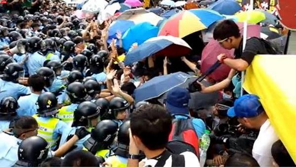 """香港""""雨伞革命""""图3"""