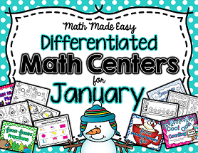 Monthly Math Centers