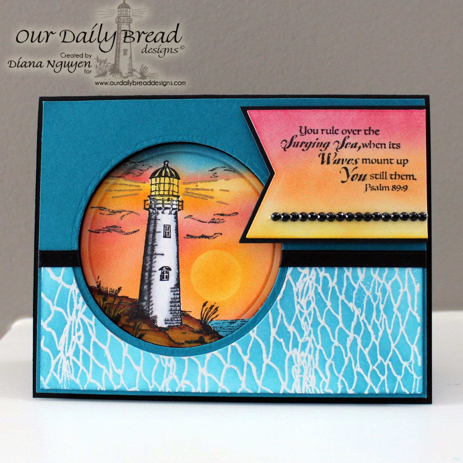 Diana Nguyen, ODBD, Our Daily Bread Designs, nautical card, masculine card
