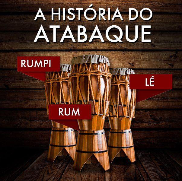 A HISTÓRIA DO ATABAQUE