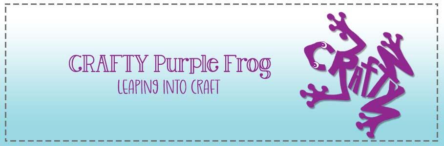 Crafty Purple Frog