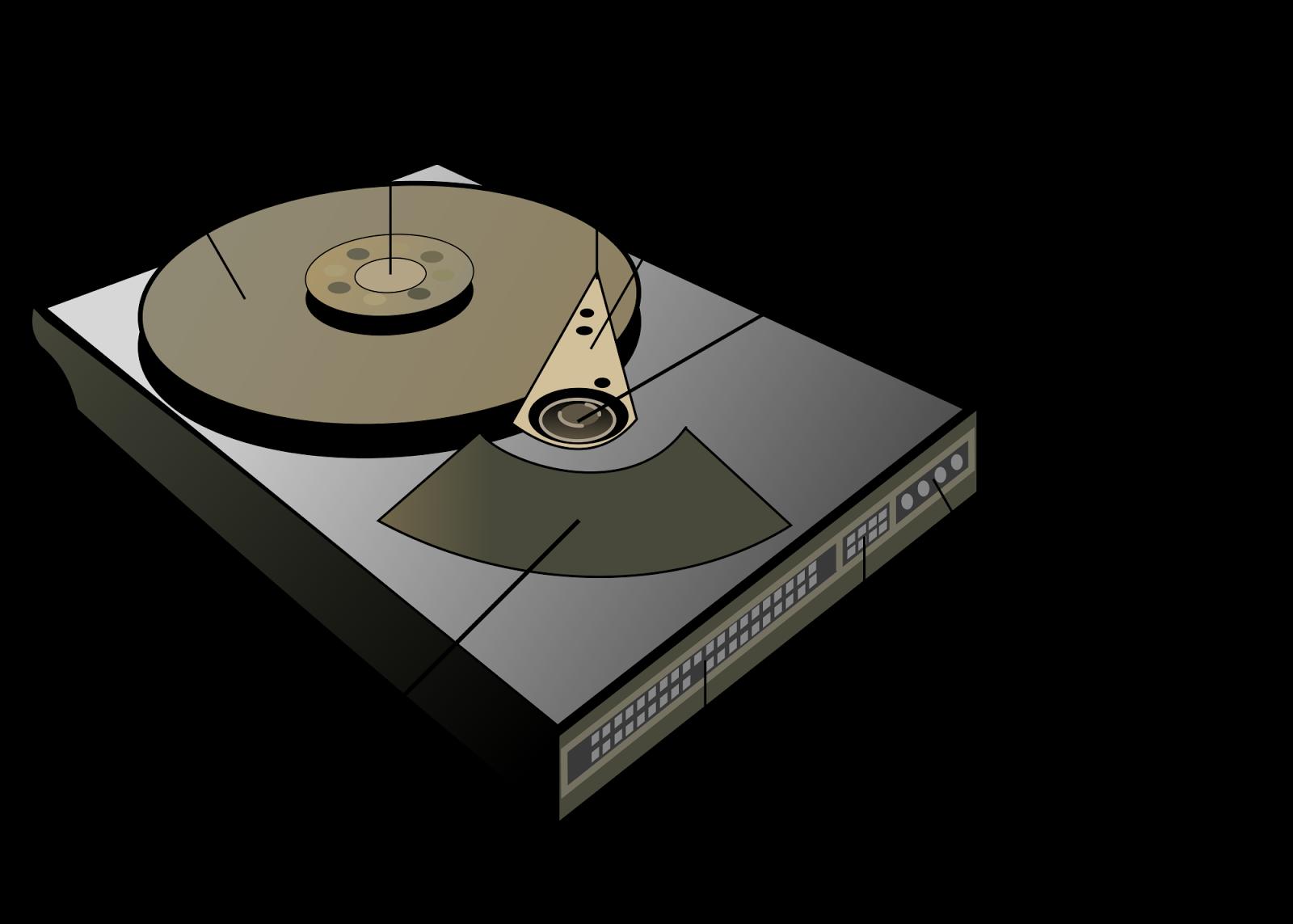 Что будет если провести магнитом по жесткому диску
