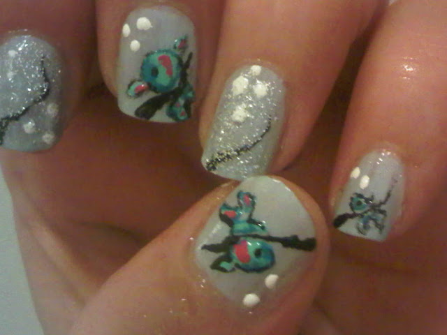 Nailart of a fish