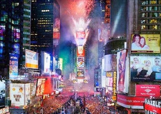 Happy New Year 2014 Countdown Los Angeles