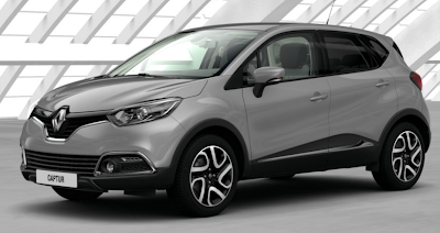 Renault Captur Colours Renault Captur Mercury