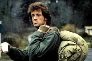 Sylvester Stallone dalam Rambo: The First Blood